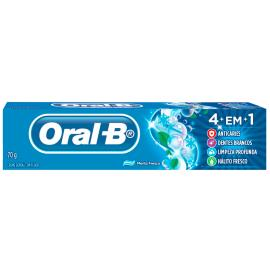 Creme Dental Oral-B 4em1 menta fresca 70gr