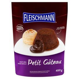 Mistura bolo ovomaltine petit gateau Fleischmann 450g