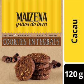 Cookies Integrais Maizena Grãos do Bem Cacau 120 GR