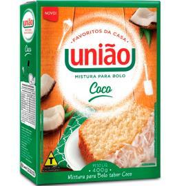 Mistura Bolo União Coco 400g