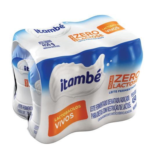 LEITE FERMENTADO itambé NOLAC Zero Lactose 450g - Imagem em destaque