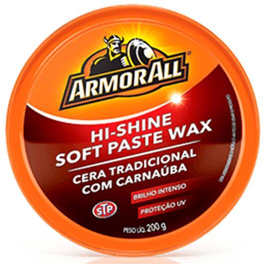 Cera Auto pasta hi-shine soft paste wax ArmoRall 200g - Imagem em destaque