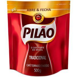 Café Pilão Tradicional BAG Abre e Fecha 500g
