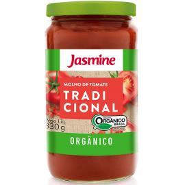 Molho de tomate Orgânico tradicional Jasmine 330g