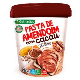 Pasta Amendoim Guimarães Integral com Cacau 450g