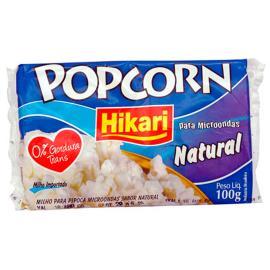 Milho de pipoca microondas Natural Hikari 100g