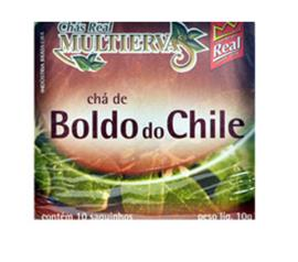 Chá Real multiervas boldo do chile 10g