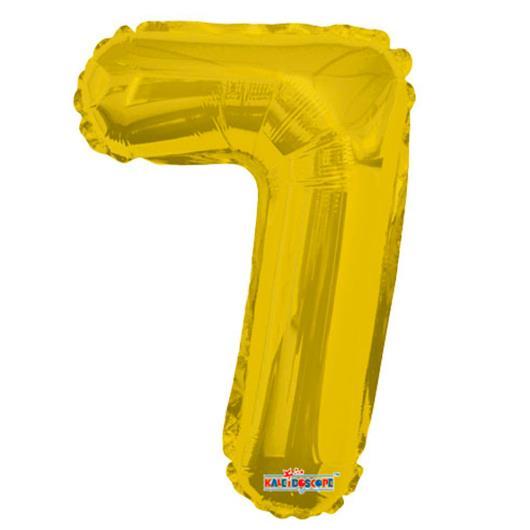 Balao Minishape n.7 dourado Regina 1un - Imagem em destaque