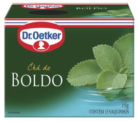 Chá Oetker de boldo do chile 15g