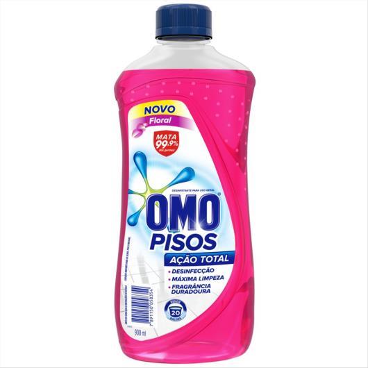 Desinfetante Omo Pisos Floral 900 ML - Imagem em destaque