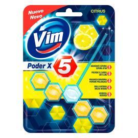 detergente sanitário poder x5 citrus vim 55g