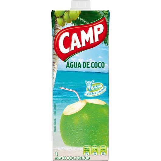 Água de coco Camp 1l - Imagem em destaque