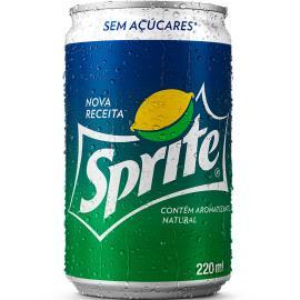 Refrigerante Sprite lata sem açúcares 220ml