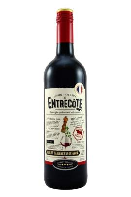 Vinho francês tinto Entrecote vidro 750ml