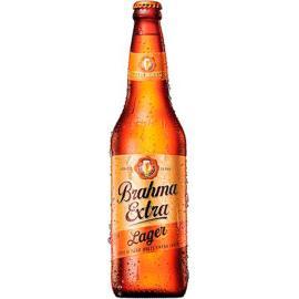 Cerveja extra Brahma garrafa 600ml