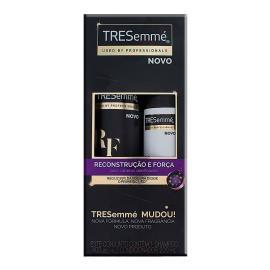 Shampoo 400ml + Condicionador 200ml Reconstrução e força Tresemmé