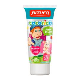 Creme Dental sem flúor tutti frutti Cocoricó Bitufo 90g