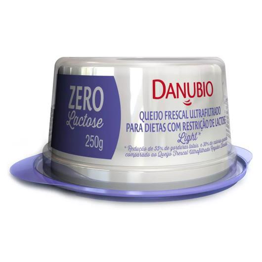 Queijo frescal zero lactose Danubio 250g - Imagem em destaque