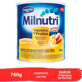 Composto Lácteo banana e maçã Milnutri 760g