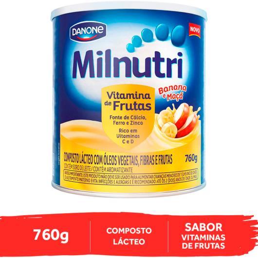 Composto Lácteo banana e maçã Milnutri 760g - Imagem em destaque