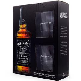 Whiskey Jack Daniel's Tennessee 1L + 2 copos