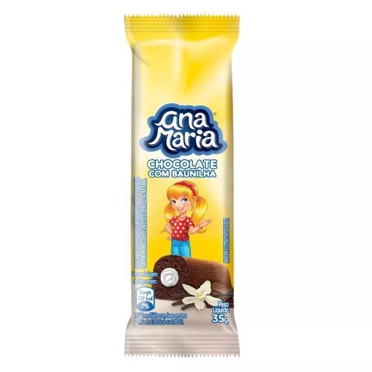 Bolo chocolate recheio baunilha Ana Maria 35g - Imagem em destaque