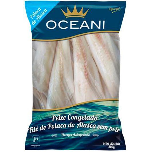 Filé Polaca Alasca Oceani Congelada 800g - Imagem em destaque
