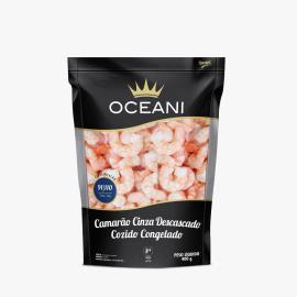 Camarão cinza descascado cozido Oceani 400g