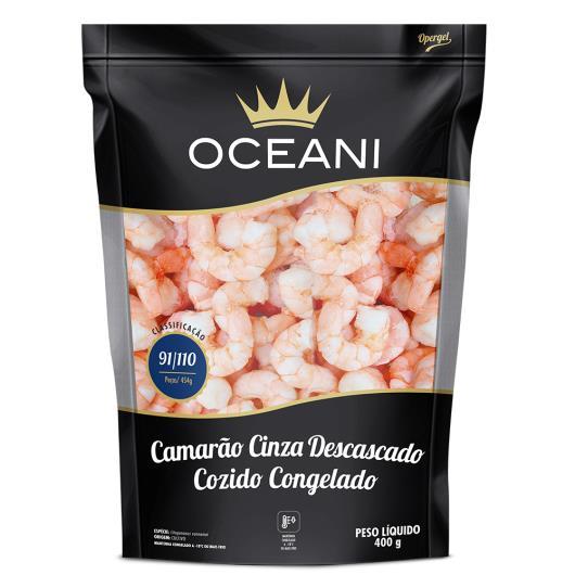 Camarão cinza descascado cozido Oceani 400g - Imagem em destaque