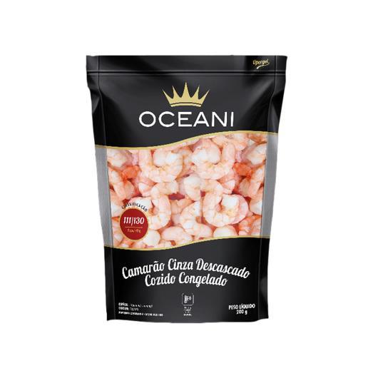 Camarão cinza descascado cozido Oceani 200g - Imagem em destaque