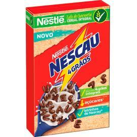 Cereal integral 4 grãos Nescau Nestlé 210g