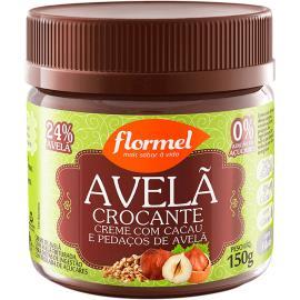 Creme de Avelã zero crocante com cacau Flormel 150g