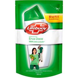 Sabonete líquido erva doce Lifebuoy refil 200ml