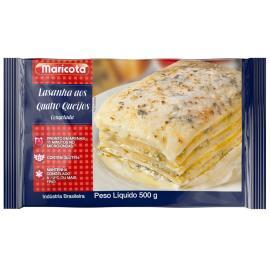 Lasanha Quatro queijos Maricota 500g