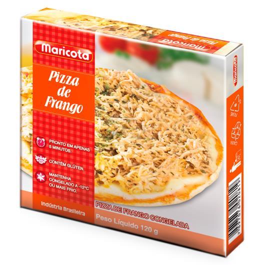 Pizza de frango Maricota 120g - Imagem em destaque