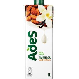 Bebida vegetal Amêndoa sabor baunilha Ades 1L