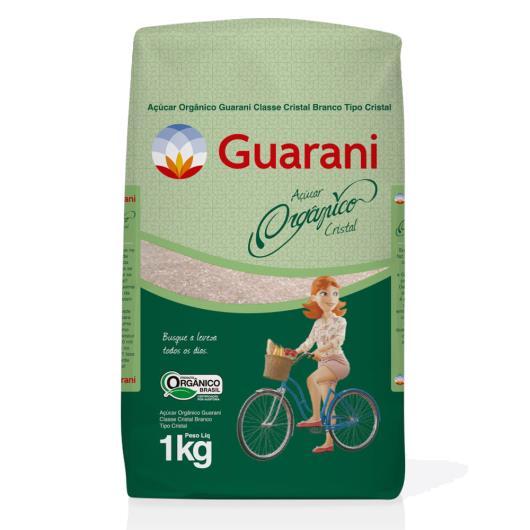 Açúcar cristal orgânico Guarani 1kg - Imagem em destaque