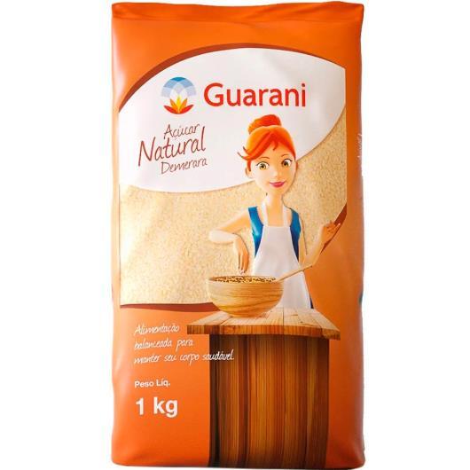 Açúcar natural demerara Guarani 1kg - Imagem em destaque