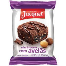 Mini Bolo Jacquet Brownie c/ Avelã 30g