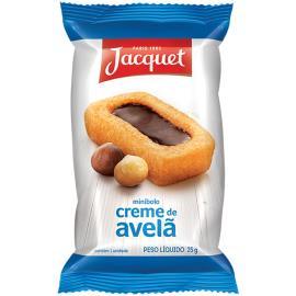 Mini Bolo Jacquet Creme de Avelã 25g