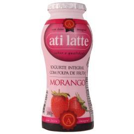 Iogurte integral morango Atilatte 180g