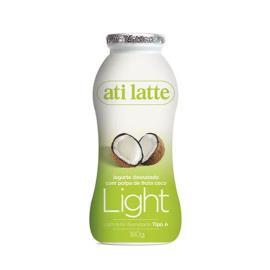 Iogurte desnatado coco Atilatte 180g