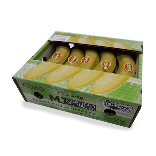 Banana Nanica MJ Maciel Orgânica 1,2kg - Imagem em destaque