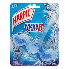 Detergente sanitário fresh power 6 acqua marine Harpic unidade