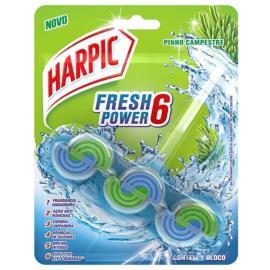 Detergente sanitário fresh power 6 pinho campestre Harpic unidade