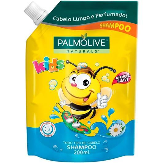 Shampoo kids todo tipo de cabelo Palmolive refil 200ml - Imagem em destaque