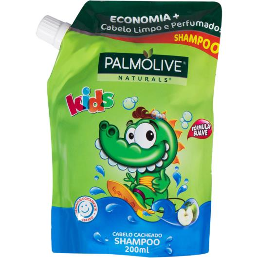 Shampoo kids cabelos cacheados Palmolive refil 200ml - Imagem em destaque
