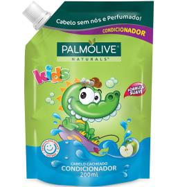 Condicionador kids cabelos cacheados Palmolive refil 200ml