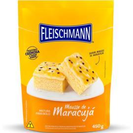 Mistura para bolo mousse de maracujá Fleischmann 450g