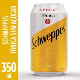 Água Tônica sem açúcar Schweppes lata 350ml